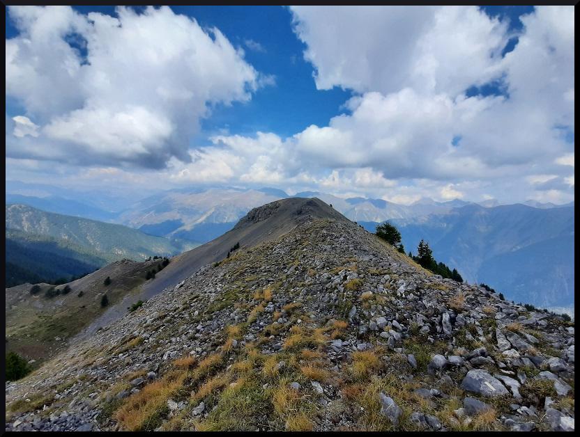 La crête du Mont Gravières