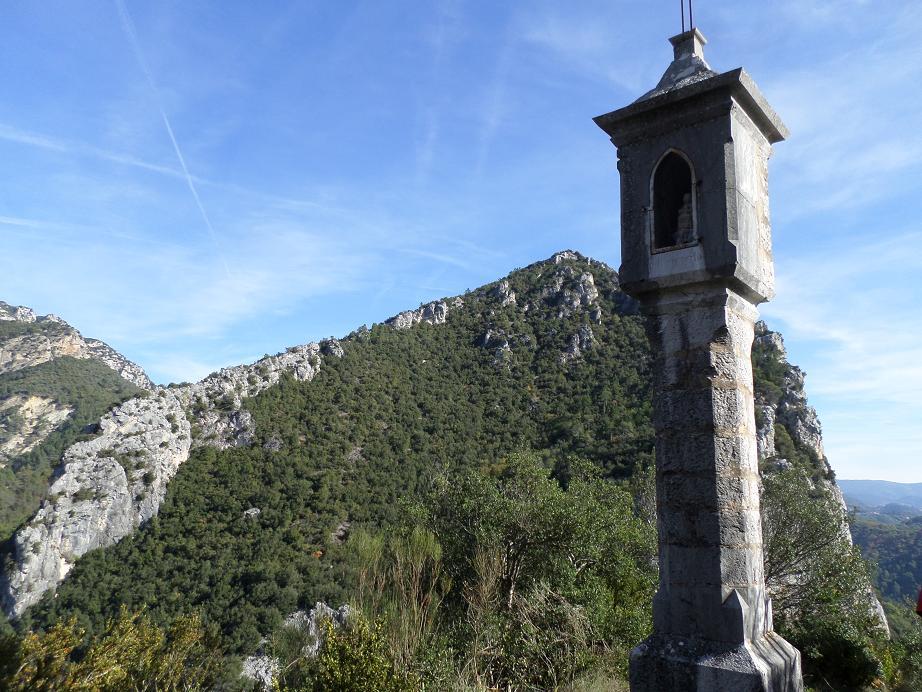 Le petit oratoire de Notre-Dame-du Brec, lieu idéal pour le pique-nique