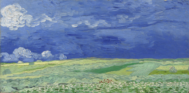 Wheatfield under Thunderclouds, 1890