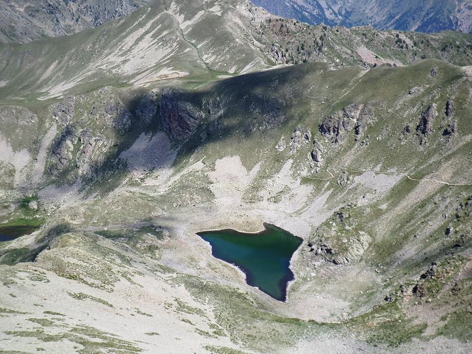 Le lac Gros vu du haut