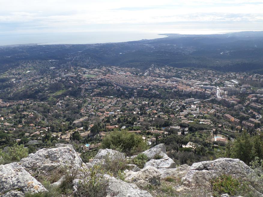 Magnifique vue sur Vence, du sommet