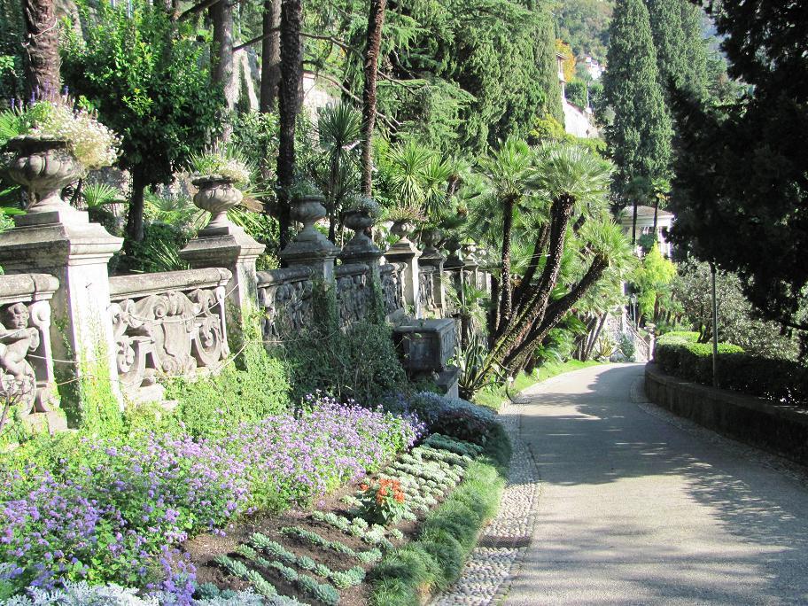 L'entrée des jardins