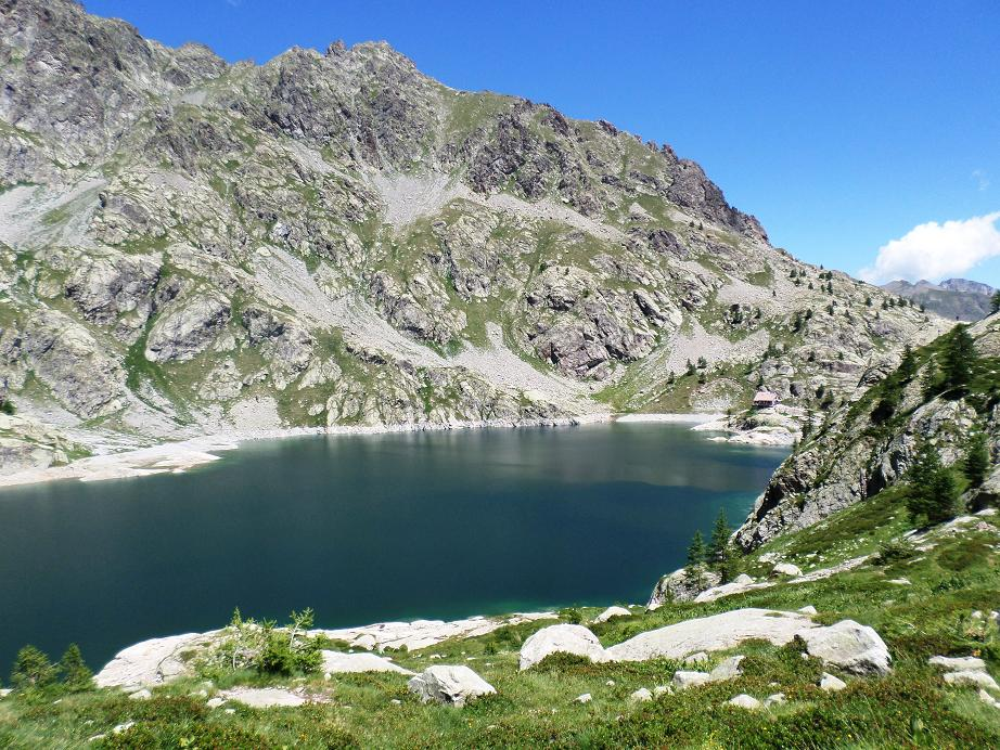 Le lac Vert quand on va vers le lac Noir