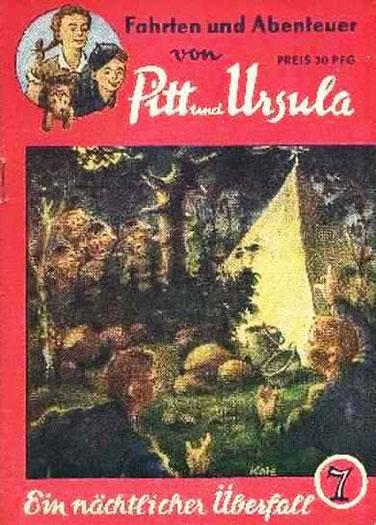 Fahrten und Abenteuer von Pitt und Ursula 7