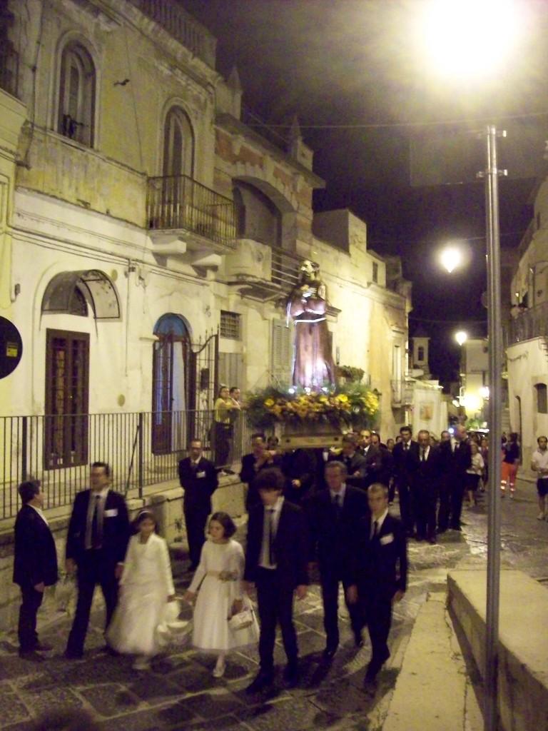 Processione di San Francesco d'Assisi 4 Ottobre 2012