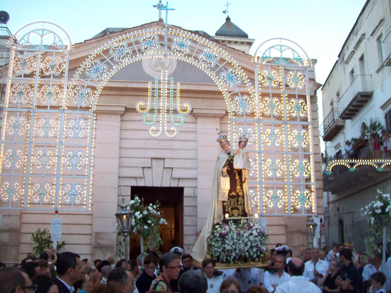 Processione di Maria SS. del Carmelo 15 Luglio 2012