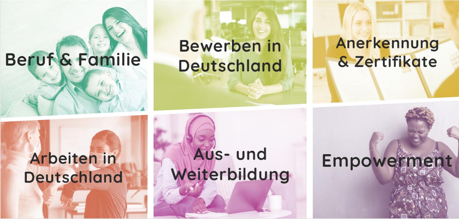 1. Berufsbildungswoche für zugewanderte Frauen