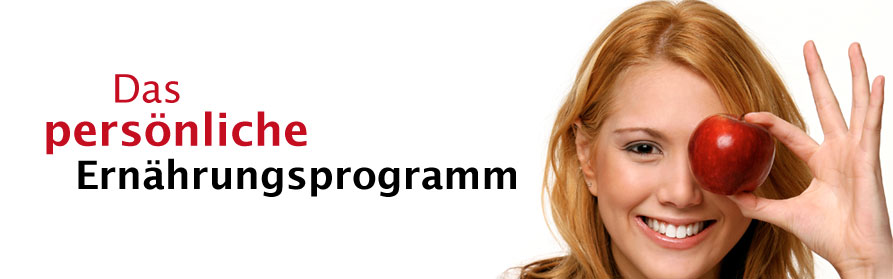 Persönliches und induividuelles Ernährungsprogramm in Blender