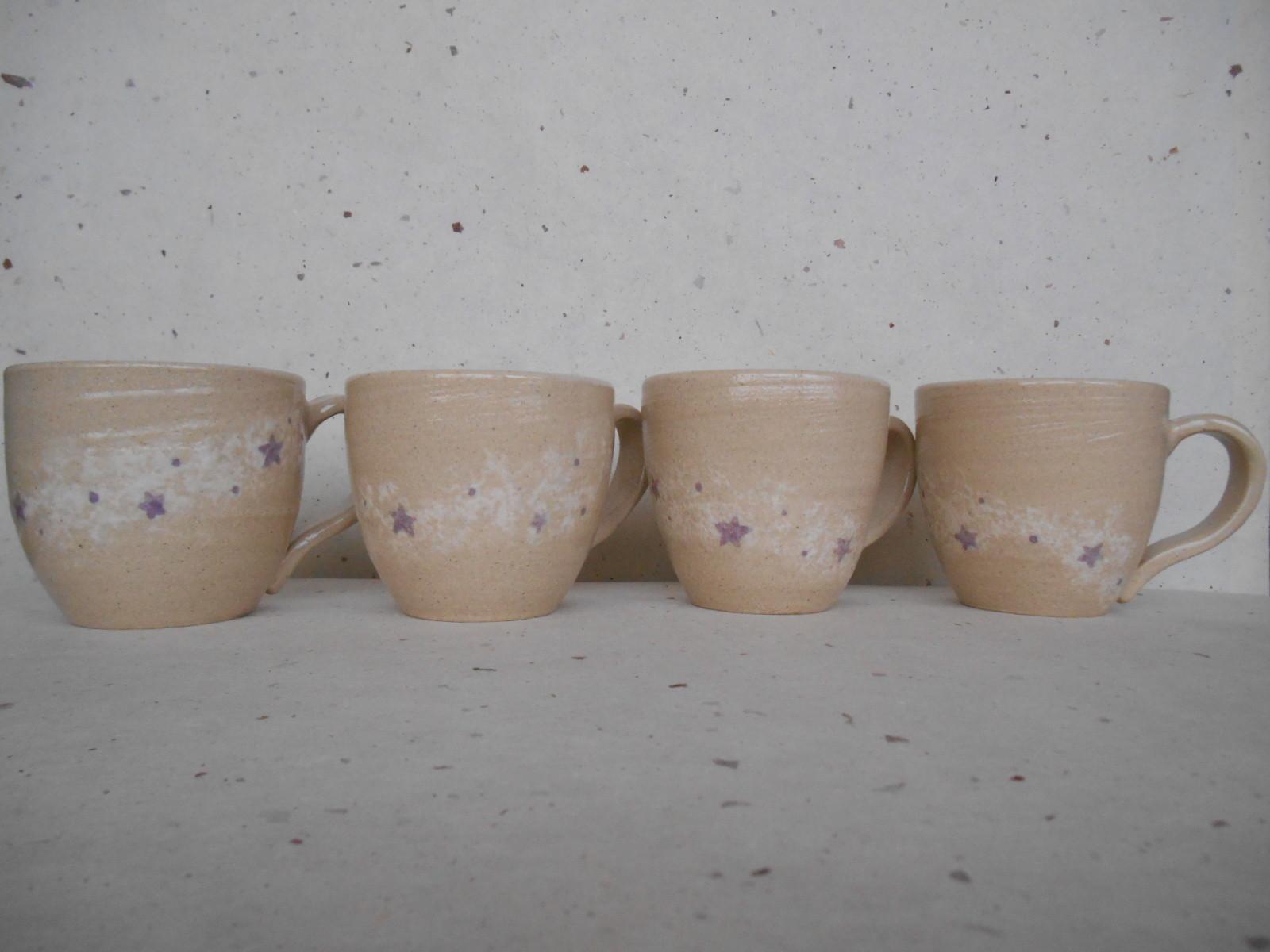 天の川・シリーズのマグカップを作ってみた。