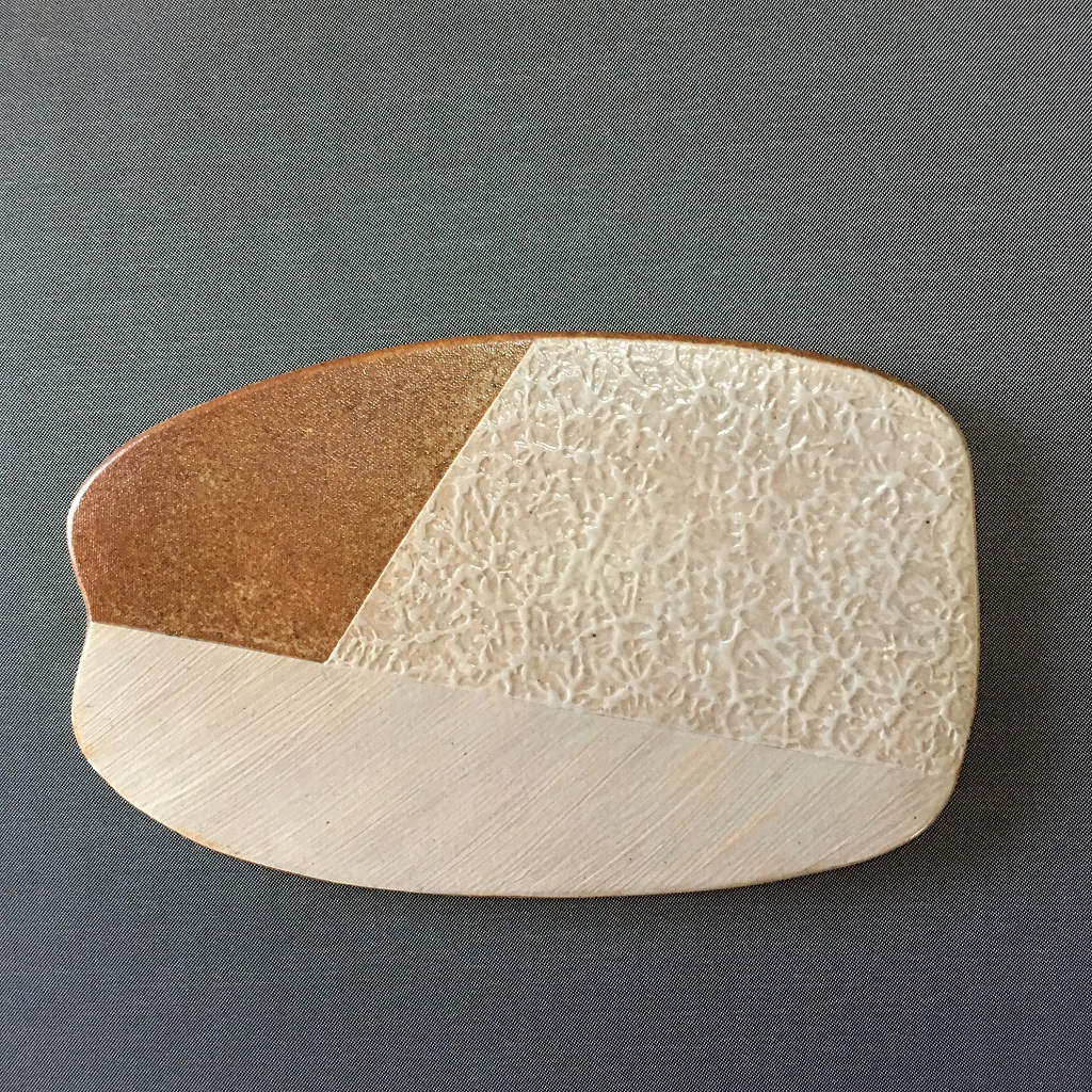 和紙柄アレンジのプレート皿
