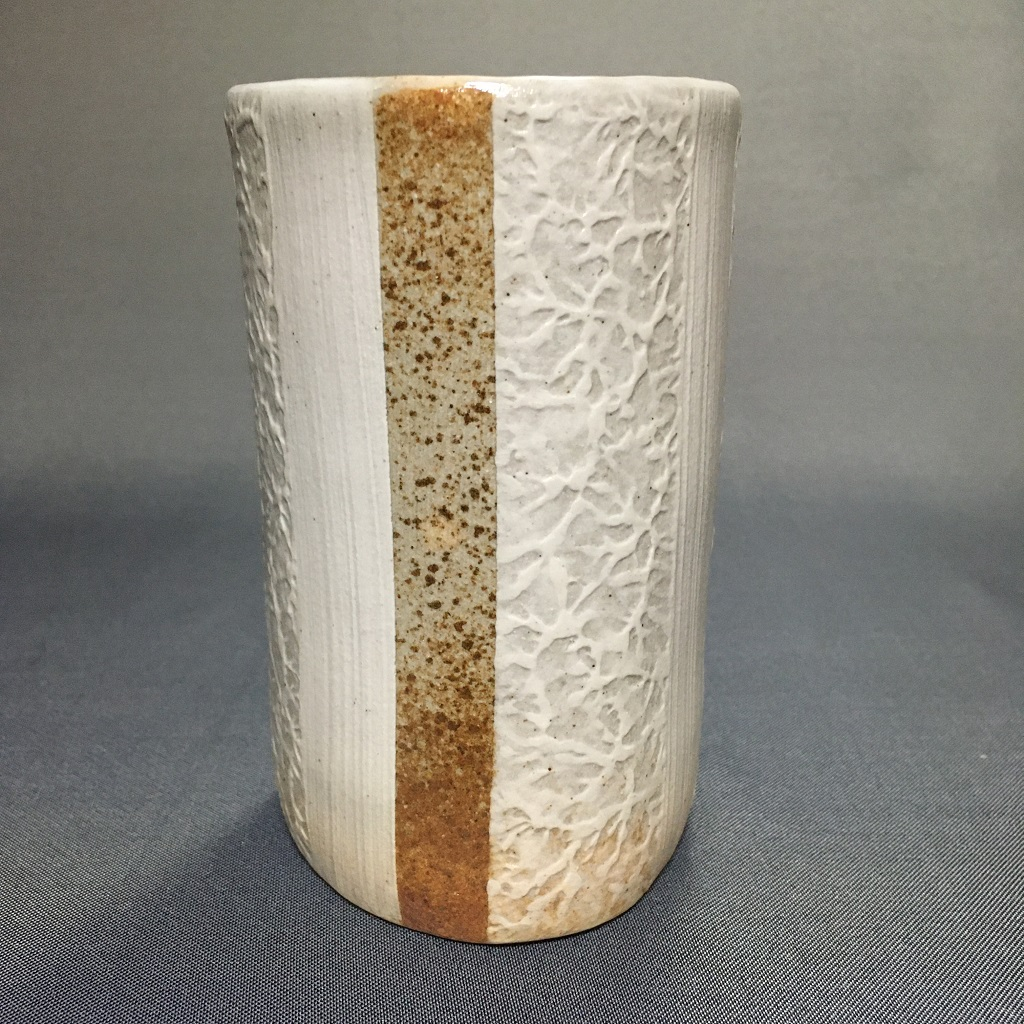 和紙柄アレンジのロングカップ