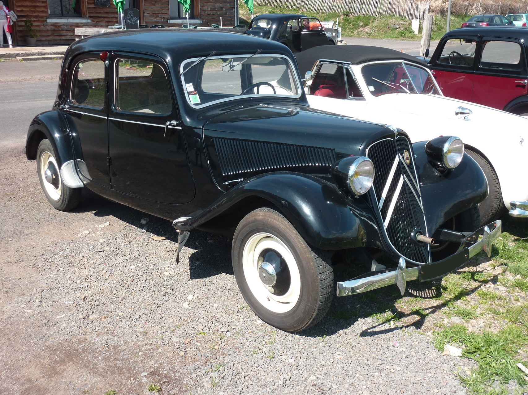 CITROEN TRACTION 11 BL      1949