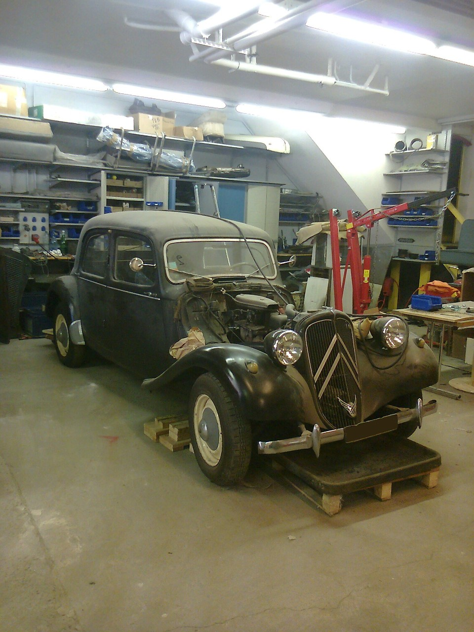 CITROEN TRACTION  11BL    1954