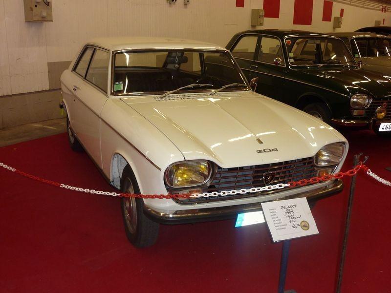 PEUGEOT 204   1969