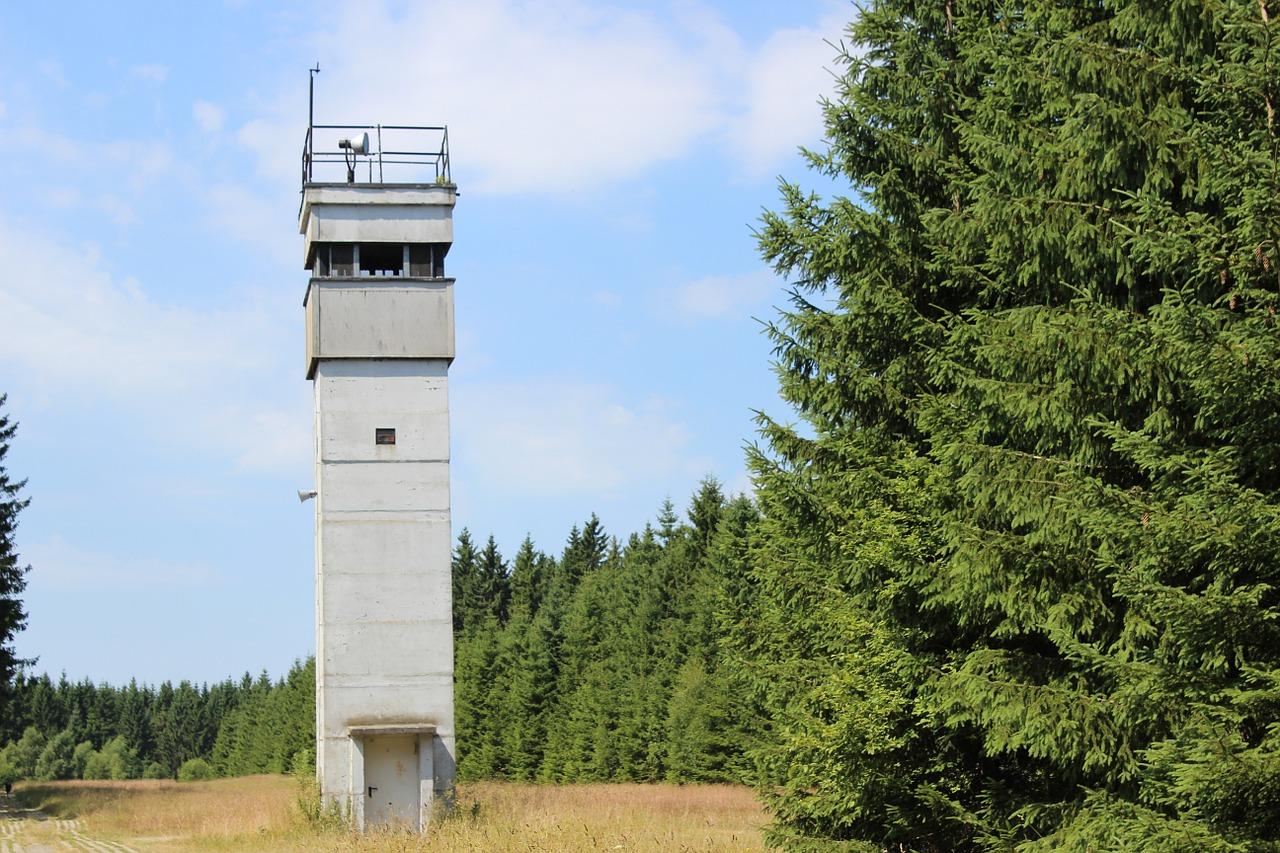 Vanaf welke uitkijktoren kijk je?