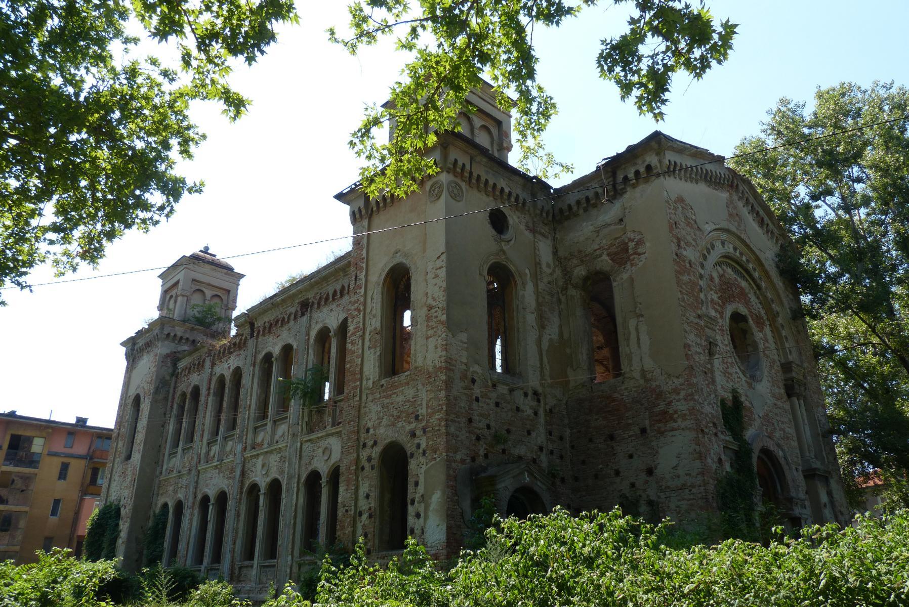 Die Synagoge in Vidin soll die größte Bulgariens gewesen sein.