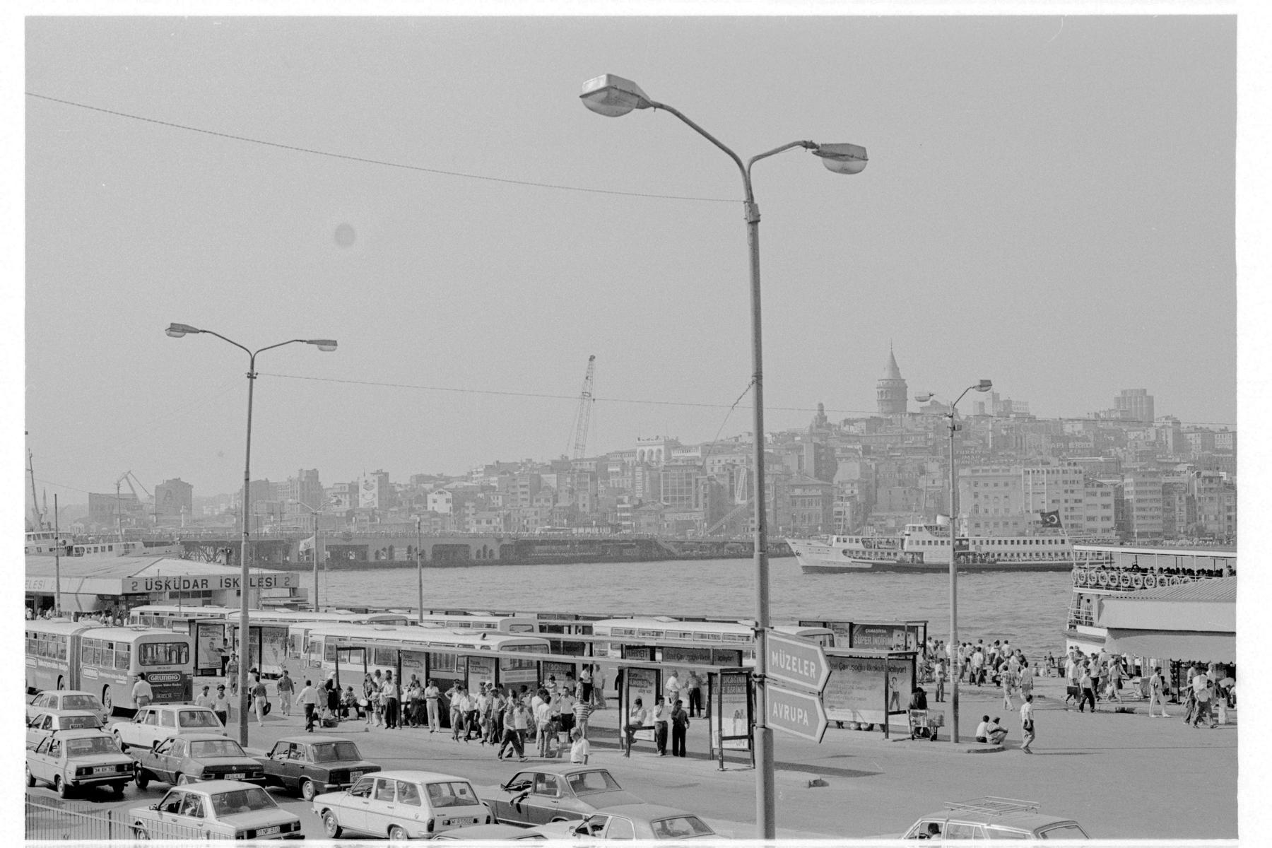 Nur im Zentrum war Istanbul eine erkennbare Metropole.