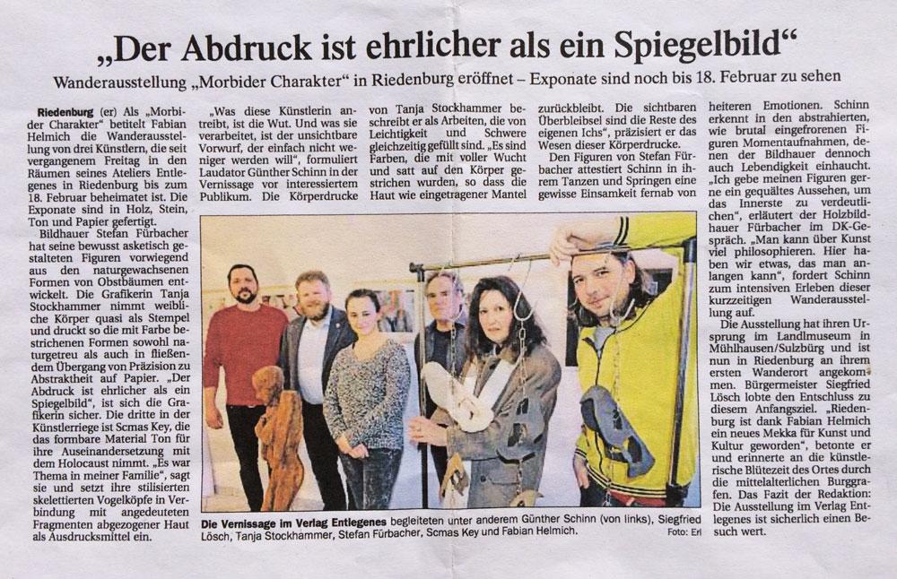 Vernissage im Verlag Entlegenes (Riedenburg/Wanderausstellung)