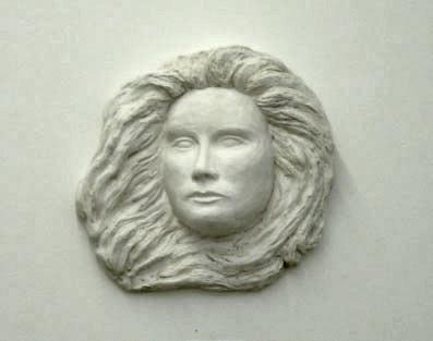 Fertiges Relief aus Alabastergips