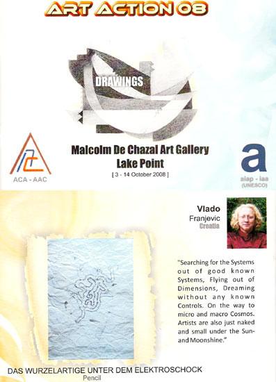 2008 ART ACTION 08 in Curepipe, Mauritius