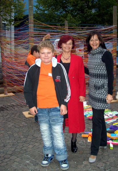 Roman, Rajka und Svetlana