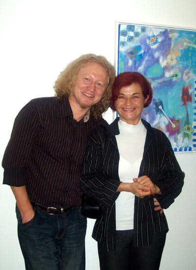 Vlado Franjevic with his wife Rajka