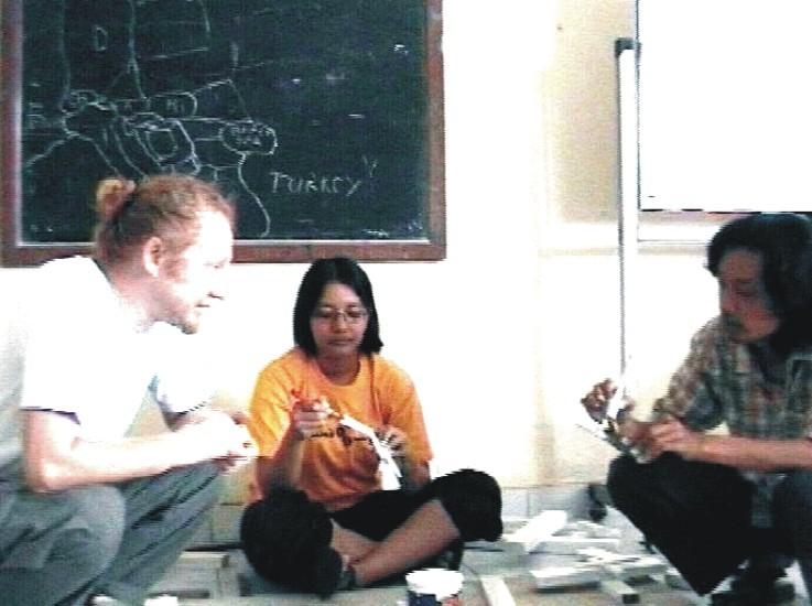 Vlado, Sari and Joko