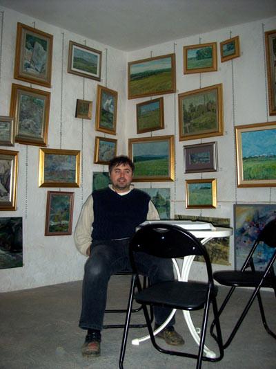 Franjo in his Studio