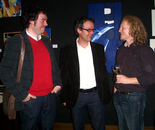 Patrick Kaufmann, Thomas Sorapera and Vlado Franjevic
