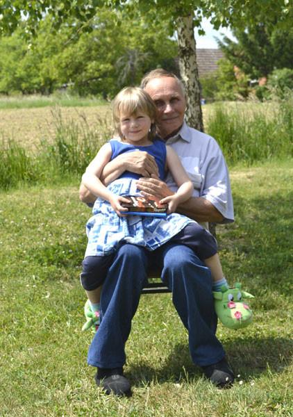 Franjin punac sa kćerkom Livadinom