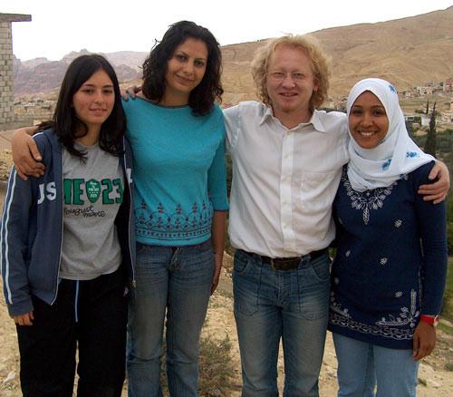 Zina, Rana, Vlado, Eman (from left)