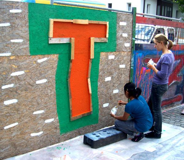 """""""T"""" - ein wunderschöner Buchstabe"""