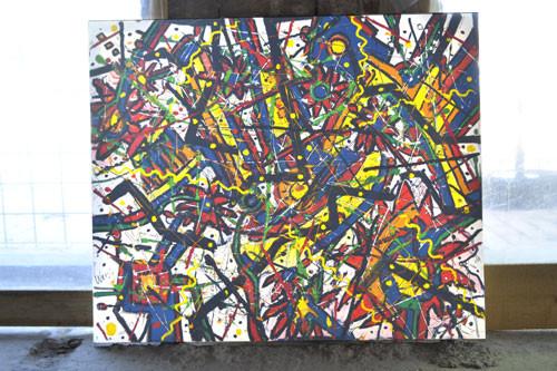 Peters painting