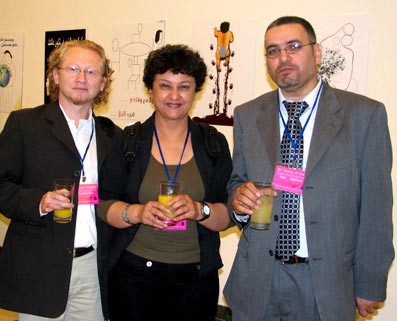 2006, Amman - Vlado with dr. Elif Ayitar and dr. Arafat al-Naim