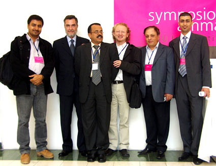 2006 International PHDs and leading graphic designers in Zara Centre, Amman