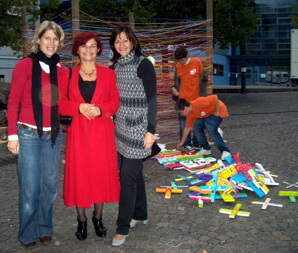 Patricia Oehri, Rajka Poljak Franjević, Svetlana Frick