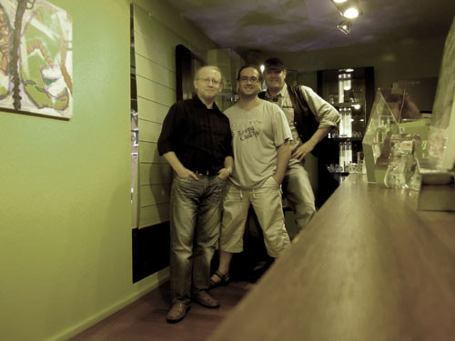Vlado, Thomas Graf und Palme