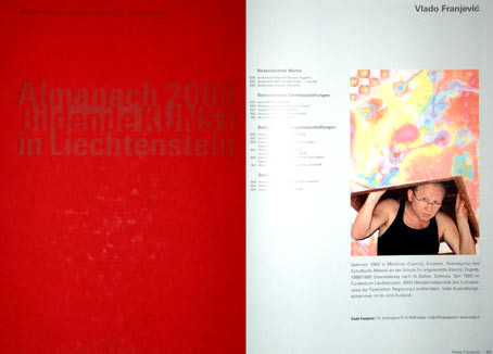2008 ART ALMANACH - fine art in liechtenstein