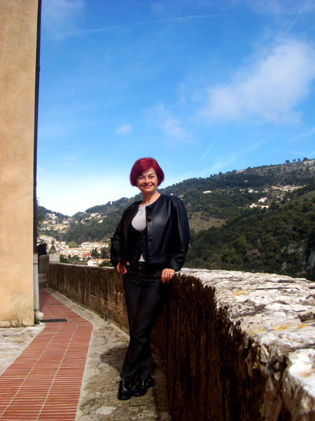 Rajka in old city of Eze-Village