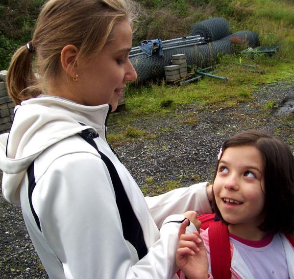Ramona und Mariana, die Kleinste