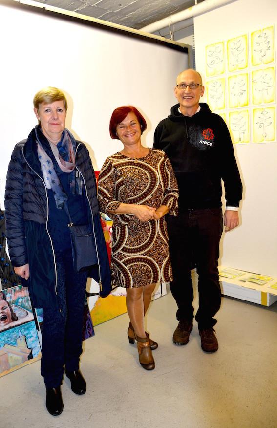 Hermine Haug, Rajka Poljak Franjevic und Dr. Thomas E. Wanger 13.11.2014