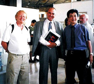 2003, Sofia - Vlado with mr. Tonci Staničić (former Ambassador of Republic Croatia in Bulgaria and Serbia)