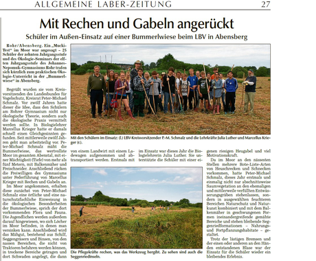 Allgemeine Laber-Zeitung vom 13.8.2013