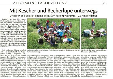 Allgemeine Laber-Zeitung vom 6.8.13