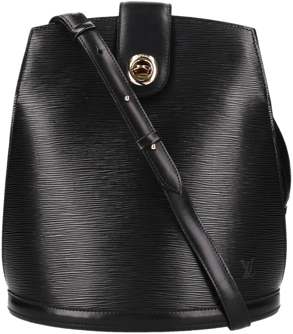 31114281ca885 VINTAGE BAGS AND MORE · HANDTASCHEN · SCHULTERTASCHEN · Louis Vuitton Cluny  Schultertasche aus Epi Leder in Kouril Schwarz