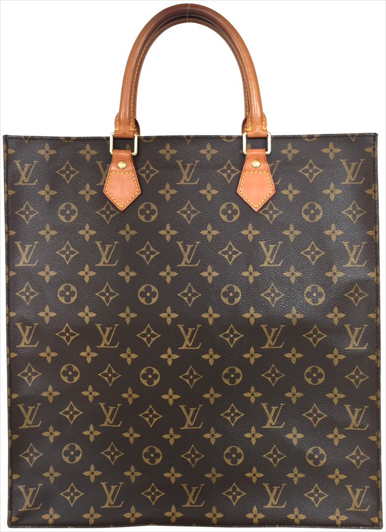 louis vuitton sac plat monogram canvas tasche handtasche vintage. Black Bedroom Furniture Sets. Home Design Ideas