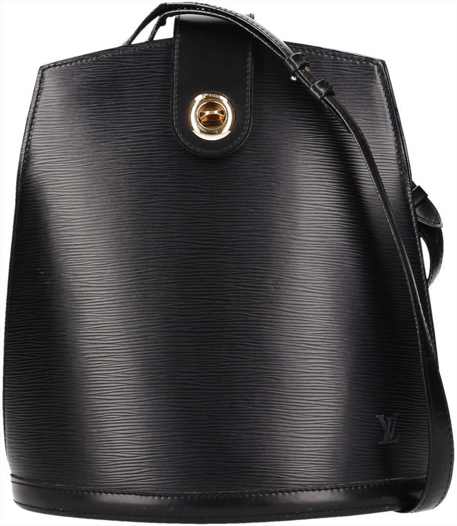 6e2ff3257c279 Louis Vuitton Cluny Epi Leder Schwarz - gebrauchte Louis Vuitton ...