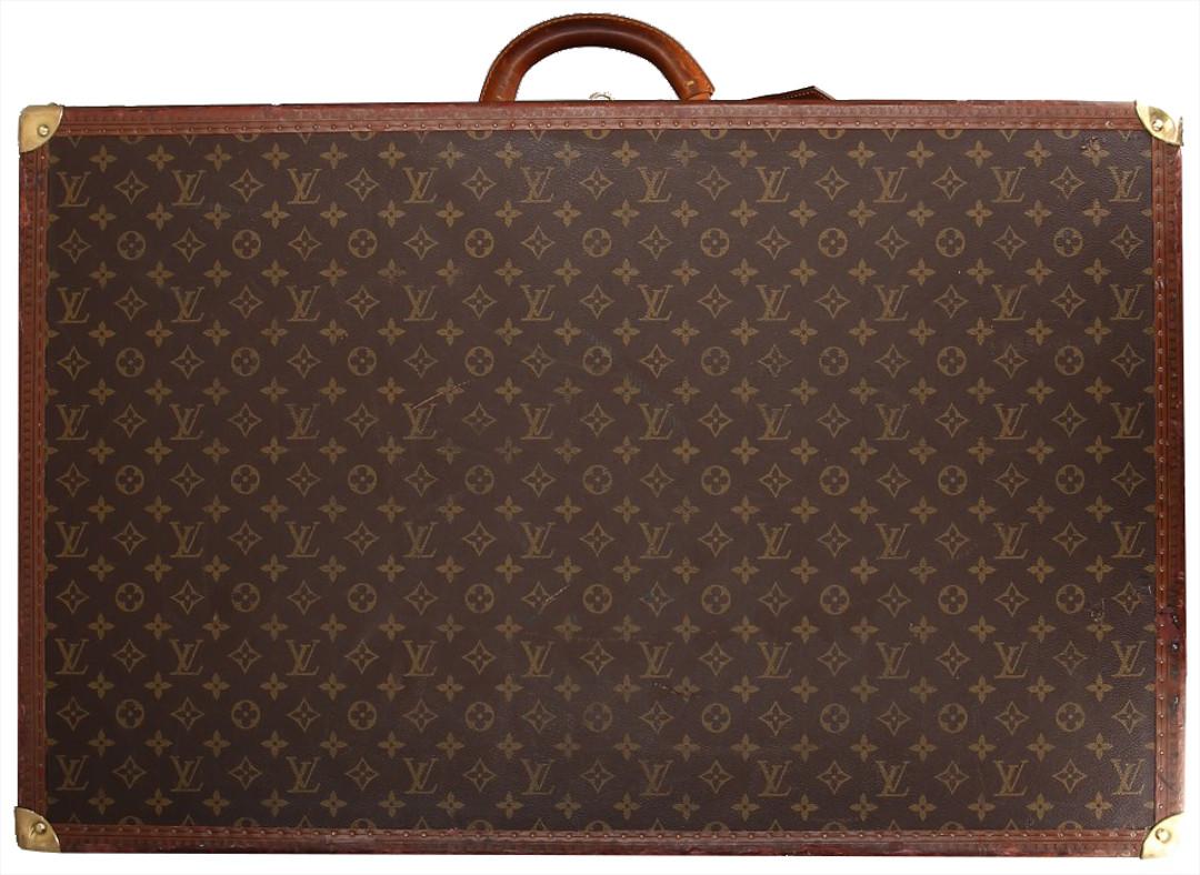 22f841216070c Louis Vuitton Bisten 55 Koffer Box Monogram Canvas