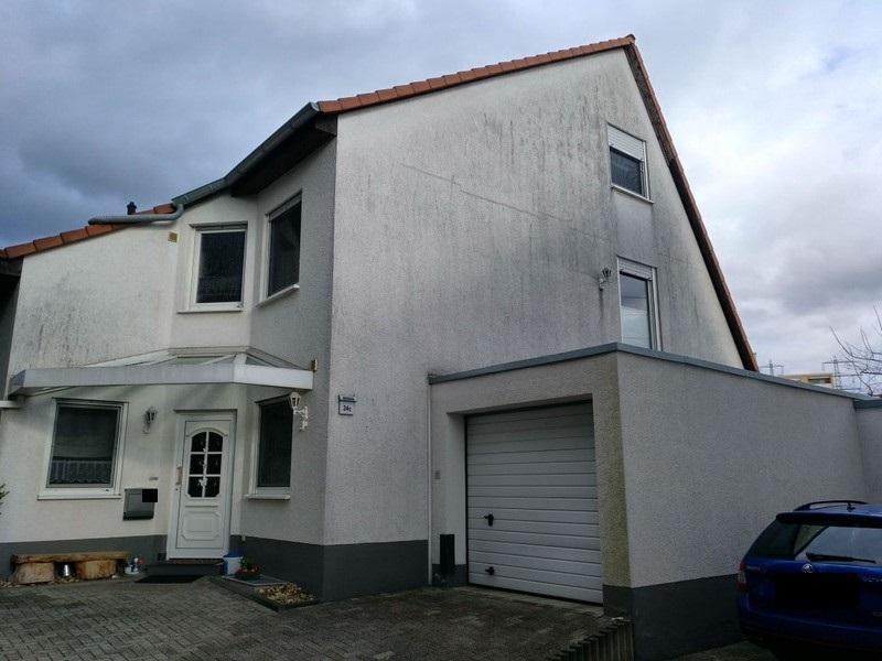 Fassade  - Vorher