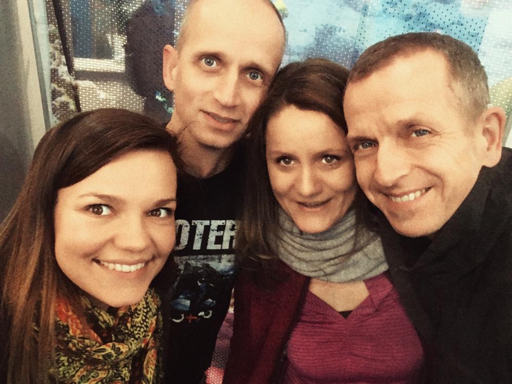 Frank, Petra und Udo